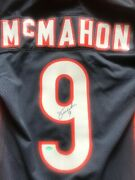Chicago Bears Jim Mcmahon 1985 Wilson Authentic Jersey Signed Autographed Mint
