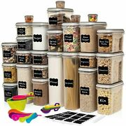 Largest Set Of 52 Pc Food Storage Containers 26 Container Set Airtight 90