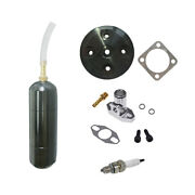 Power Boost Bottle And Black Cnc Cylinder Head Cover For 80cc Motorized Bicycle