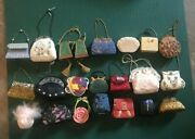 Miniature Purse Collection - Mix Of Soft And Hard Purses - Large Collection