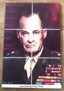 Lieutenant General L. B. Chesty Puller Marine Corps Art Tile Plaque Rob Young