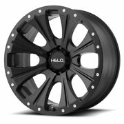 Helo He901 17x9 Black Wheels Rims 33 At Tires Package 8x170 Ford Super Duty