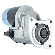 New 12v 10t Starter Fits Ford Tractor 7600.86 7610.771 7700.87 2000 D0nn11000b