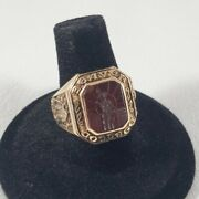 10k Yellow Gold Balfour 1957 Beaver College Mens Class Ring Size 8