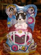 Little Live Omg Pets French Bulldog Bestie Bag And Puppy Playset With Accessories