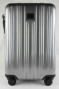 Tumi And039v3and039 Silver Polycarbonate International Expandable Carry-on - 228260slve