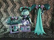 Disney Minnie Mouse Main Attraction Haunted Mansion October Full Set In Hand