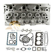 New Complete Cylinder Head Assy With Gasket Kit For Kubota D722 Engine