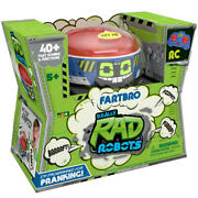 Remote Control Really Rad Robots - Fartbro Playset Toy Xmas Gift For Kidand039s Lf