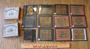 Lot Of Photographic Hammer Dry Plate Co Vintage Fdr, Life Insurance, Herself +