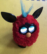 2012 Furby Boom Red And Black And Blue Hair Electronic Interactive Pet - Works