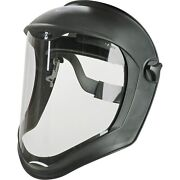 Honeywell Uvex S8500 Bionic Face Shield With Suspension,clear Uncoated Visor,new