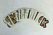 Lot Of 172 Vintage Topps 1968 Love Mod Initial Stickers