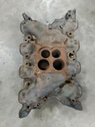 Ford 351c 351 Cleveland 71 - 72 Intake Manifold 4v Spread Bore D1ze-9425-bb