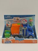 Blippi Recycling Truck And Exclusive Figure Lift And Load Lets Recycle New Htf