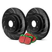 For Bmw 640i Gran Coupe 13-19 Brake Kit Ebc Stage 10 Super Sport Dimpled And