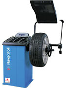 Alemlube Entry Level Wheel Balancer With Hood Auto A And D Arm G2.119r