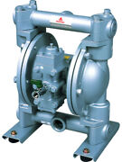 Alemlube Diaphragm Pump 1 Air Operated Flow Rates Up To 160 L/min Ale-25bah