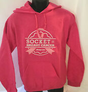 New Snap-on Tools Socket To Breast Cancer Pink Sweatshirt Hoodie Pullover Small