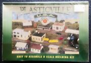 Bachmann Plasticville 45609 O Scale Police Station W/ Police Car Sealed