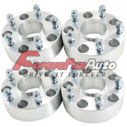 4pc 50mm 2 Hubcentric 5x100 Wheel Spacers For Subaru Forester Brz 2013-2018