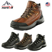 Nortiv 8 Menand039s Military Tactical Boots Hiking Combat Army Work Waterproof Shoes