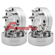 4pc 2 Wheel Spacers Adapters 5x5.5 To 6x5.5 Cb108mm Studs 1/2-20 Fits Ram 1500