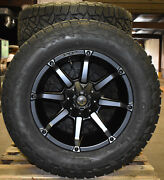20x10 Fuel D556 Black Coupler Wheels 35 At Tires 8x170 Ford Excursion F250 Tpms
