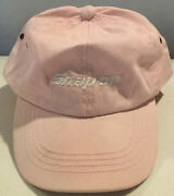 New Snap-on Tools Collectors Baseball Cap Hat One Size Pink/white Adjustable