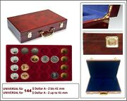 Look Coin Case Premium Root 144 Compartments Round 1 5/8in For Us - Canada