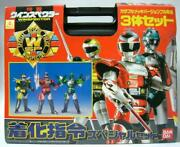 Bandai Special Rescue Police Winspector Command Set Of 3 Figure 1990 New 3286