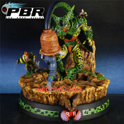 Pbr Studio Dragon Ball Android 17 Android 16 Vs Cell Resin Model In Stock 1/6