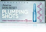 Avon Anew Skin Reset Plumping Shots 7x1.3 Ml With Protinol - New And Sealed