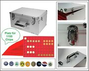 Look Alu Collector Case Coin Case Gigant 15 Tableaux For 1155 Trolley