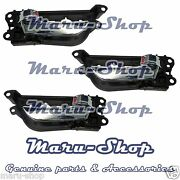 Chrome Inside Door Handle Catch Set3pcs For 1118 Hyundai Veloster-for Lhd