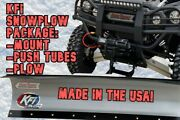Kfi Atv 48 Snow Plow Kit Combo - Andlsquo08-20 Suzuki 750 King Quad 4x4/axi