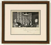 Dwight D. Eisenhower - Inscribed Photograph Mount Signed