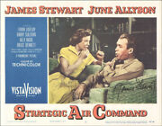 Strategic Air Command Movie Cast - Lobby Card Signed With Co-signers
