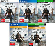 Assassins Creed Valhalla Playstation 4 Ps4 Xbox One Rpg Action Adventure Game