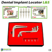 Dental Implant Surgical Drill Guide Locator Pins Set Tooth Measuring Ruler Tools