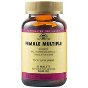 Multivitamins And Minerals For Women Female Multiple, 60 Tablets, Free Shipping