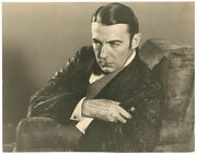 Sherlock Holmes 1929 - Clive Brook In Character - Large Signed Portrait - Rare