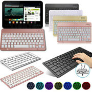 Us Slim Portable Wireless Keyboard For Kindle Fire 7 Hd 8 10 Tablet 2019
