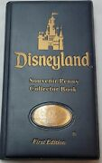 Rare Disneyland First Elongated Pressed Penny Collector Book New 2000
