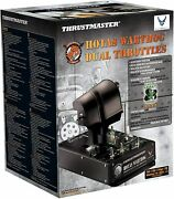 Thrustmaster Hotas Warthog Dual - Command Of Power - Pc - Replica Of The Command