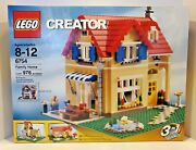 New Lego Creator 6754 Family Home 3 In 1 Retired House Set Rare Sealed Us Ship