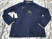 Nwt 135 Nike Notre Dame Therma Midweight Jacket Men Full Zip Ci4472 420 Size S
