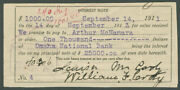William F. Buffalo Bill Cody - Document Signed With Co-signers