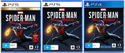 Marvels Spider-man Miles Morales Sony Ps5 Ps4 Spiderman Superhero Action Game