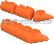 9and039 Long 26 Wide Modular Plastic Floats Pontoons Robot Usv Dock Mini Barge New